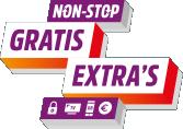 Ziggo non-stop extra's logo