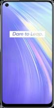 Voorkant Realme 6 4GB dual sim wit