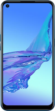 Voorkant oppo a53s dual sim blauw