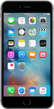Voorkant iphone 6s space gray
