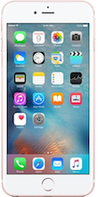 Voorkant iphone 6s rose gold