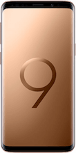 Voorkant galaxy s9 gold