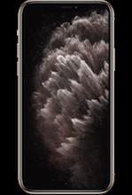 Voorkant apple iphone 11 pro gold