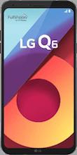 Voorkant LG Q6 black