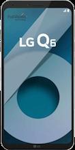 Voorkant LG Q6 Platinum