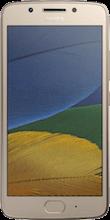 Moto G5 gold voorkant vergelijken