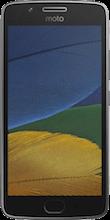 Moto G5 grijs voorkant vergelijken
