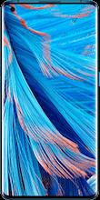 Voorkant oppo find x2 dual sim blauw