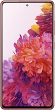 Voorkant samsung galaxy s20 fe 4g rood