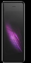 Voorkant samsung galaxy fold dual sim zwart