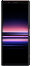 Voorkant sony xperia 5 dual sim zwart