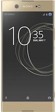 Xperia XA1 Ultra gold voorkant