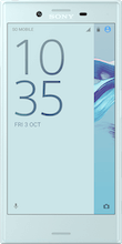 Xperia X Compact Blue voorkant