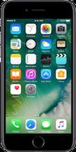 Voorkant iphone 7 black