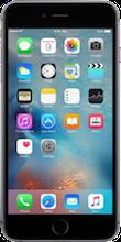 Voorkant iphone 6s plus space gray