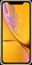 Voorkant apple iphone xr geel