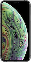 Voorkant iphone xs space gray