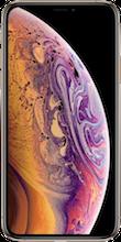 Voorkant iphone xs goud