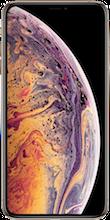 Voorkant iphone xs max gold