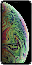 Voorkant iphone xs max space gray