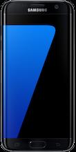 s7 edge Black voorkant