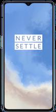 Voorkant oneplus 7t dual sim blauw