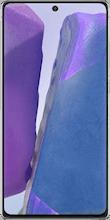 Voorkant samsung galaxy note 20 dual sim grijs