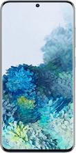 Voorkant samsung galaxy s20 dual sim blauw