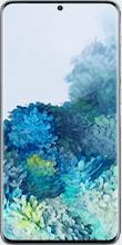Voorkant samsung galaxy s20 plus dual sim blauw
