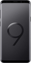 Voorkant galaxy s9 plus black