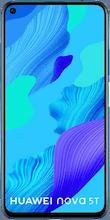 Voorkant huawei nova 5t dual sim blauw