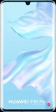 Voorkant huawei p30 pro dual sim crystal blue