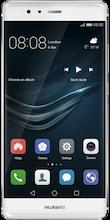 Voorkant Huawei p9 zilver