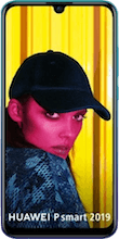 Voorkant huawei p smart 2019 dual sim blauw
