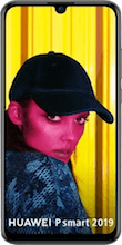 Voorkant huawei p smart 2019 dual sim zwart