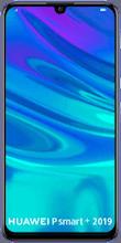 Voorkant huawei p smart plus 2019 dual sim blauw