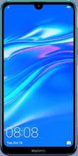 Voorkant huawei y7 2019 dual sim blauw