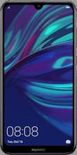 Voorkant huawei y7 2019 dual sim zwart