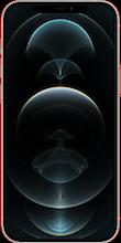 Voorkant apple iphone 12 pro max zilver