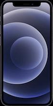 Voorkant apple iphone 12 mini zwart