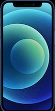 Voorkant apple iphone 12 mini blauw