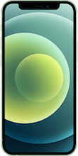 Voorkant apple iphone 12 mini groen