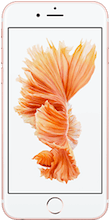 Iphone Rose Gold voorkant