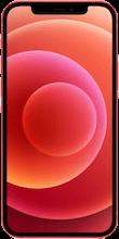 Voorkant apple iphone 12 rood