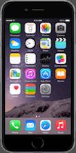 Voorkant iphone 6 black