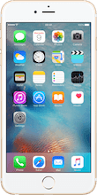 Iphone 6s plus goud