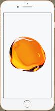 Iphone 7 plus goud voorkant