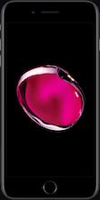 Iphone 7 plus zwart voorkant