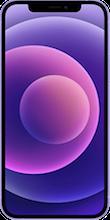 Voorkant apple iPhone 12 paars
