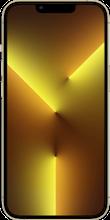 Voorkant apple iPhone 13 pro max goud